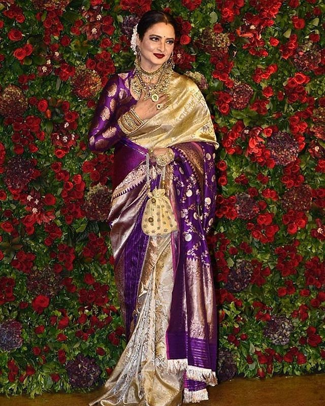 How to wear / style a saree